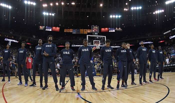 Following the USA Basketball Team at RIO